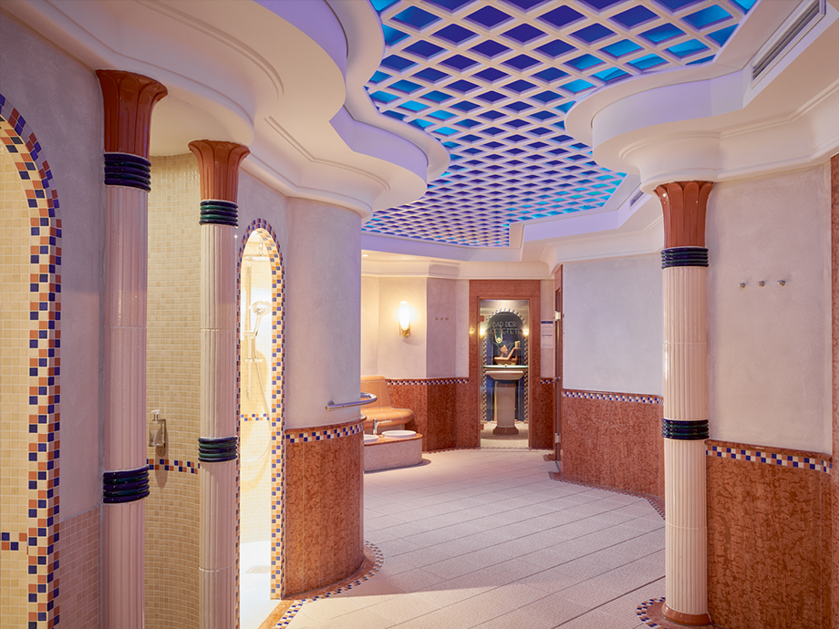 Spa-Bereich im Travel Charme Kurhaus Binz