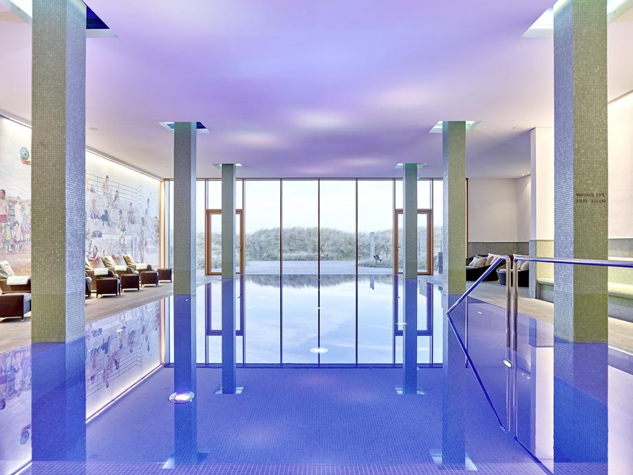 IndoorPool_© BUDERSAND Hotel - Golf & Spa - Sylt_920x690px